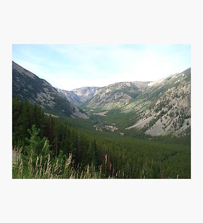 The Hanging Valley Photographic Print