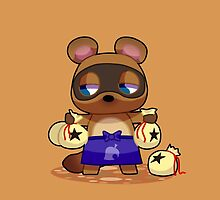 Animal Crossing Character: Tom Nook by 8BitAmy