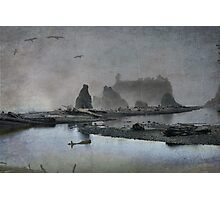 Once upon a time....Ruby Beach Photographic Print