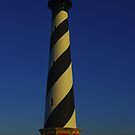 Cape Hatteras Lighthouse at Sunset by Dave Parrish
