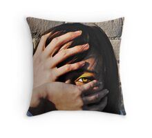 Hands 2 Throw Pillow