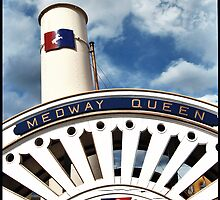 Medway Queen Paddle Steamer by southendonsea