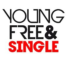 Young Free And Single Text Logo Design by Style-O-Mat