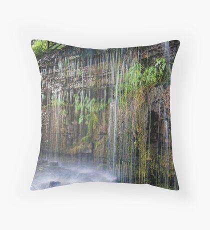 Ledge Rain ver 2 Throw Pillow