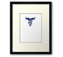 veterinary logo 1 Framed Print