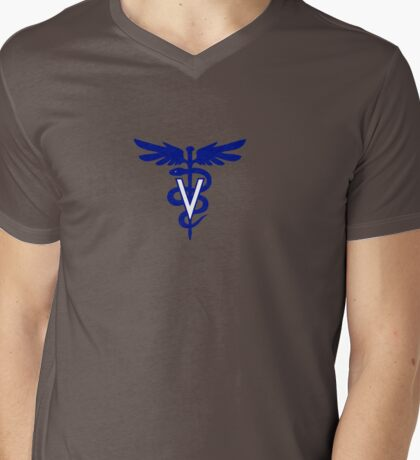 veterinary logo 1 Mens V-Neck T-Shirt