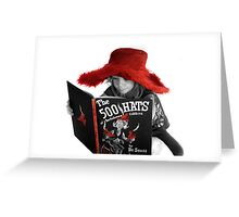 500 Hats Greeting Card