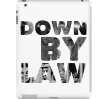DOWN BY LAW iPad Case/Skin