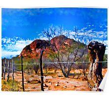 Desertscape #1 Poster