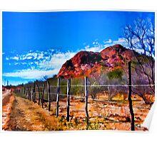 Desertscape #4 Poster