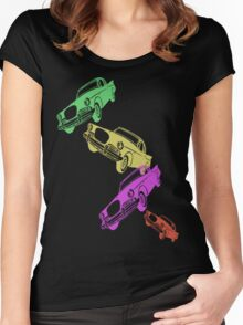 Vintage Cadillac T-Shirt Women's Fitted Scoop T-Shirt