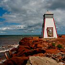 Lighthouse - Beach Point by Tim Yuan