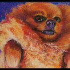 Original Pastel Painting by ACEO artist MBurton by Magaly Burton