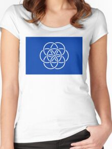 International Flag of Earth Women's Fitted Scoop T-Shirt