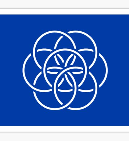 International Flag of Earth Sticker
