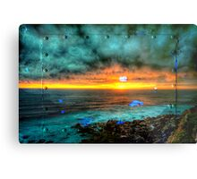 THe Bower HDR Metal Print