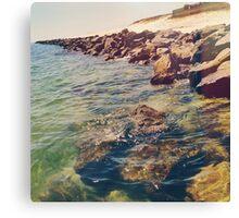 Rocky Ocean Canvas Print