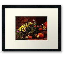 Ready for fall Holidays Framed Print