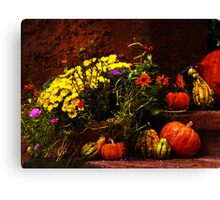 Ready for fall Holidays Canvas Print