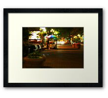 Pioneer Square Framed Print