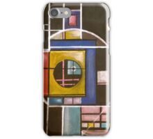 Abstract structure iPhone Case/Skin