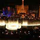 Bellagio Fountains, Las Vegas by Susanne Correa