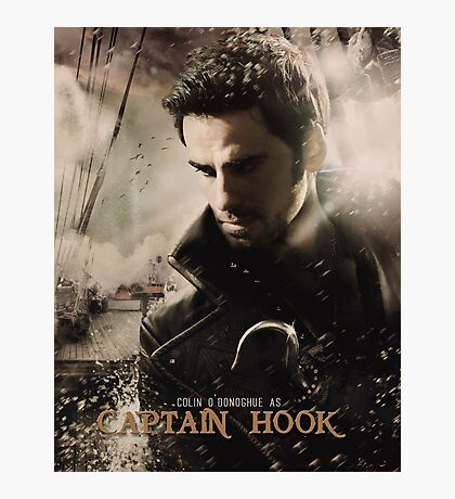 Movie Poster Style - Hook / Colin Photographic Print
