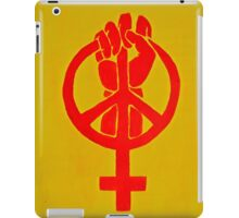 The Time is Now iPad Case/Skin
