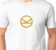 KINGSMAN · Golden Logo on white Unisex T-Shirt