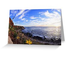 PV Cliff  Greeting Card