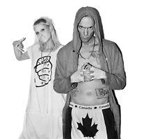 Die Antwoord - Yolandi & Ninja by chickenugget