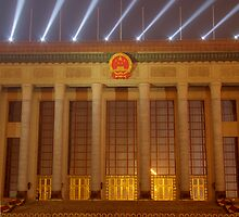 The Great Hall of the People by KLiu