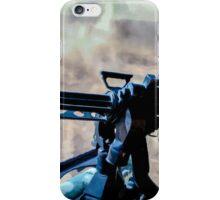 The Gunner - Digital Art / Helicopter Gunner - War / Military iPhone Case/Skin