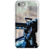 The Gunner - Digital Art / Helicopter Gunner - War / Military iPhone Case/Skin