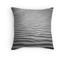 Sand Ripple Throw Pillow