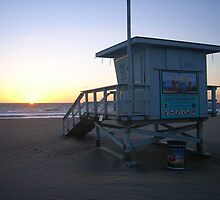 Lifeguard Tower by Walt Conklin