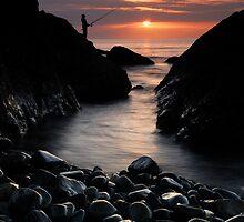 Fishing 1 by Paul Mercer