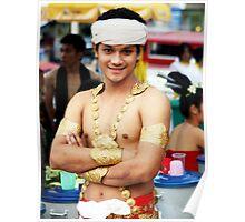 Gold, Chiang Mai, Thailand Poster