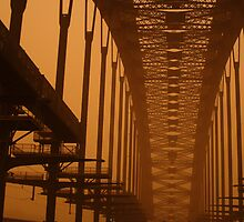 Dusty Harbour Bridge by Kyle Parker
