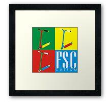 FSC Custom Scooters  Framed Print