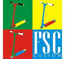 FSC Custom Scooters  Photographic Print