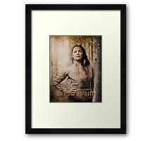 Movie Poster Style - Snow / Ginny Framed Print