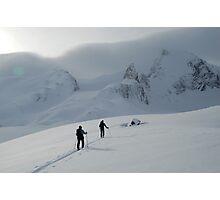 Septre Spire Skiing, Alberta, CA Photographic Print