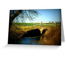 England-Countryside Greeting Card