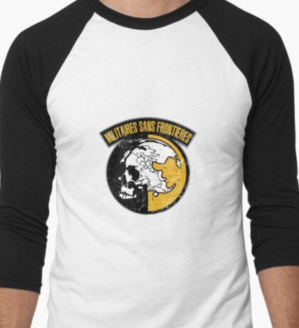 MGS - MSF Logo Men's Baseball ¾ T-Shirt