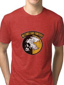 MGS - MSF Logo Tri-blend T-Shirt
