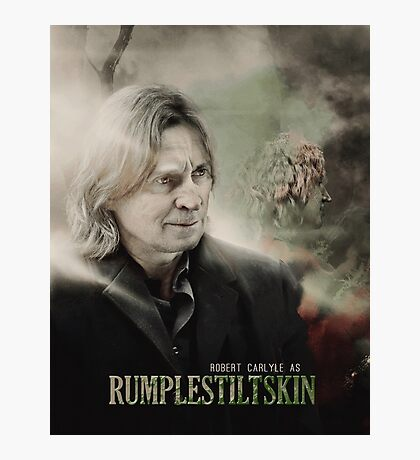 Movie Poster Style - Rumple / Robert Photographic Print