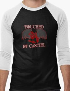 Touched By Castiel (#1) Men's Baseball ¾ T-Shirt