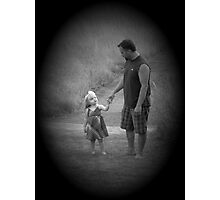 Come On Daddy Photographic Print