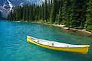 Magic on Moraine Lake  #8 Calendar Series   by Barbara Burkhardt